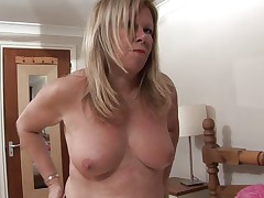 European mature whore Lisa is eager to take off her panties for us. This bitch saw a lot of cock in her youth and she still needs satisfaction. Watch how horny she is and the way she touches herself with lust before laying on her back to take off those panties for us. Curious what she's up to?